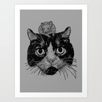 Unusual Friendship  Art Print
