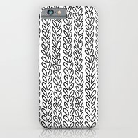 Knit Outline Zoom iPhone 6 Slim Case