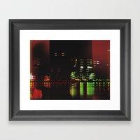 Delvin City Framed Art Print