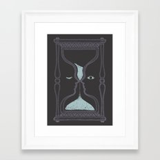 blink and you'll miss it Framed Art Print