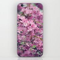 iPhone & iPod Skin featuring pink by Mary Carroll