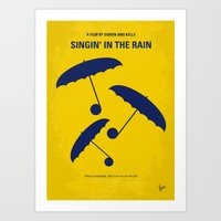 No254 My SINGIN IN THE R… Art Print
