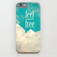 iPhone & iPod Case featuring feel free by Claudia Drossert