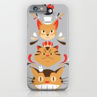 iPhone & iPod Case featuring Studio Kitty by Ashley Hay