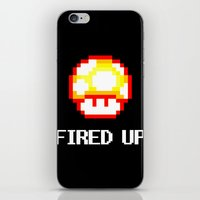 FIRED UP iPhone & iPod Skin