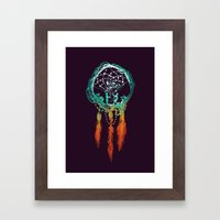 Dream Catcher (the Rusti… Framed Art Print