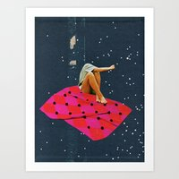 SOMEONE ELSE Art Print