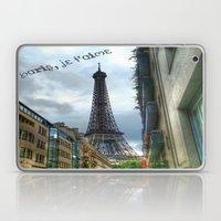 paris, je t'aime Laptop & iPad Skin