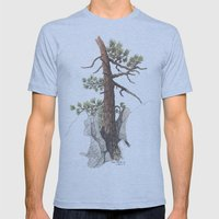 Lone Pine Mens Fitted Tee Athletic Blue SMALL