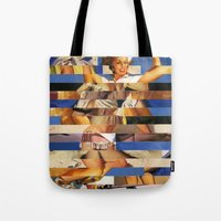 Glitch Pin-Up Redux: Queenie Tote Bag