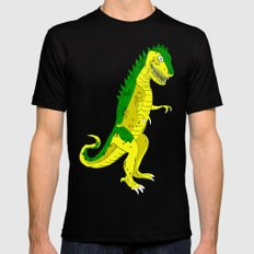 T-Rex Grr! Mens Fitted Tee Black SMALL