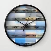 The Many Faces Of The Fr… Wall Clock