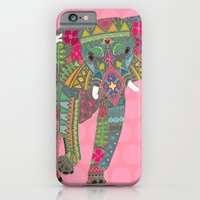 Painted Elephant Pink iPhone 6 Slim Case