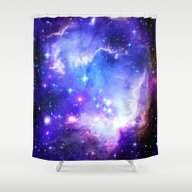 Shower Curtain featuring Galaxy by WhimsyRomance&Fun