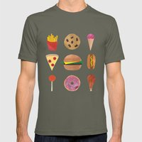 Junk Food Mens Fitted Tee Lieutenant SMALL