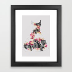 FILLED WITH CITY II Framed Art Print