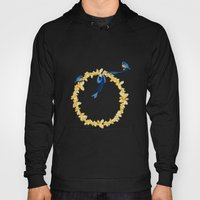 Bluebirds And Blossoms Hoody