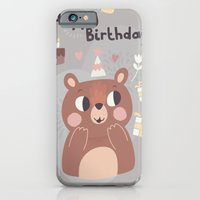 Happy Birthday Bear! iPhone 6 Slim Case