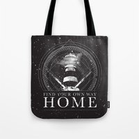 Find Your Own Way Home Tote Bag