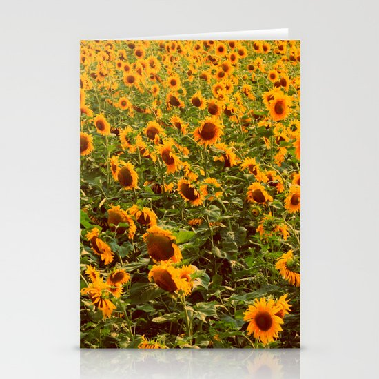 Fields of gold Stationery Card