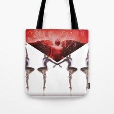 envelope bloody ballet Tote Bag