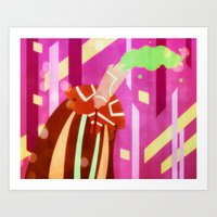Bubblegum Cyanide Art Print