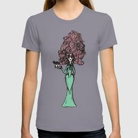 An Immediate Problem Womens Fitted Tee Slate SMALL