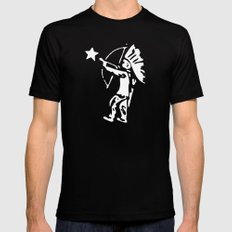 Free Mens Fitted Tee SMALL Black