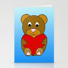 Love Bear Stationery Cards