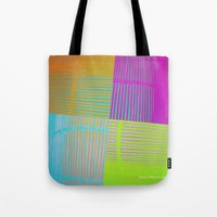 Di-simetrías Color Tote Bag