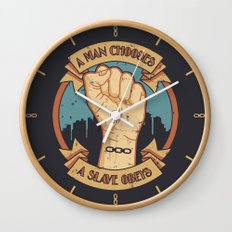 Bioshock a man, a slave Wall Clock