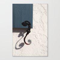 A Perfect Shadow Canvas Print