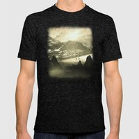 Winter. Melody. Mens Fitted Tee Tri-Black SMALL