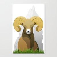 Ram Canvas Print
