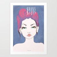 Balance Girl Art Print