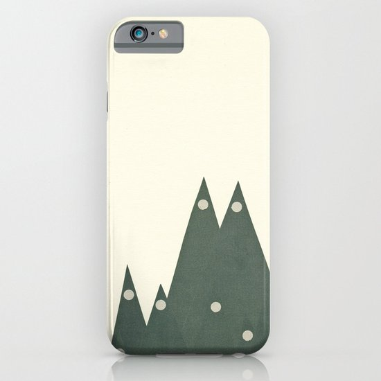 Moonlit Peaks iPhone & iPod Case