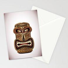 Africa Ethnic Mask Totem Stationery Cards