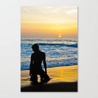 Phuket Sunset Canvas Print