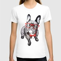 dog T-shirts featuring Happy Dog by 13 Styx