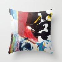NIRVANA/FELIX Throw Pillow
