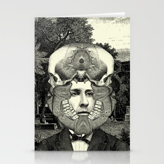 Lithography 3 Stationery Card