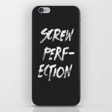 Perfection iPhone & iPod Skin