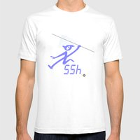 javelin record time Mens Fitted Tee White SMALL