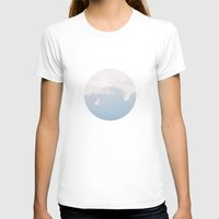 Cloud 9 Womens Fitted Tee White SMALL