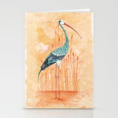 An Exotic Stork Stationery Cards
