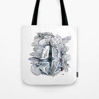 The City Bean  Tote Bag