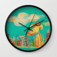 Dog Wall Clock