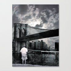 drove all the beast down Canvas Print