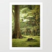 Ohara Jizo, Kyoto Art Print