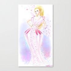 Cashmere Dress 2012 Canvas Print